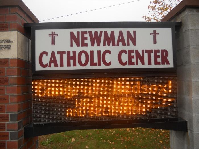 Congratulations Red Sox