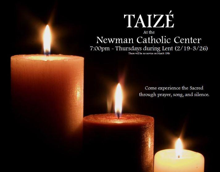 Taize Poster